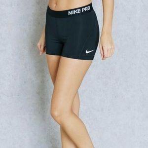 "Nike Pro 3"" Compression Shorts Black XS"